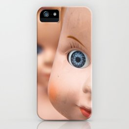 Baby Blue Eyes iPhone Case