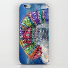 The Rainbowhouse ! iPhone & iPod Skin