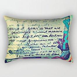 The Fire Next Time Rectangular Pillow