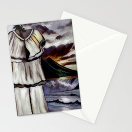When The Pant Suit When On Vacation Alone Stationery Cards