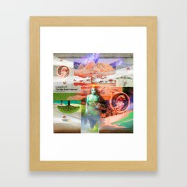 """ISLAND OF JIN """"The Alien Nation Collection"""" Framed Art Print"""