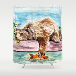 Sunday Shower Curtain