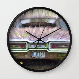 Thunderbird Lanes Wall Clock