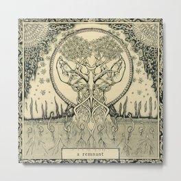 A Remnant Metal Print