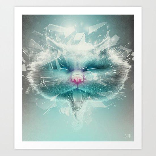 Baron Philip Von Glass Art Print