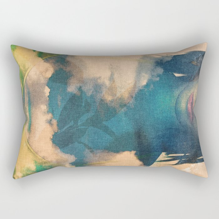 Zyx_recollection Rectangular Pillow
