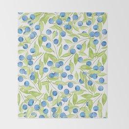 Blueberry Hill Throw Blanket