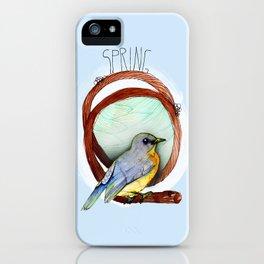Spring birdy / Nr. 2 iPhone Case