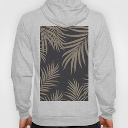 Palm Leaves Pattern Sepia Vibes #2 #tropical #decor #art #society6 Hoody
