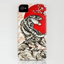 Japan Tiger iPhone Case
