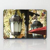 arab iPad Cases featuring Dubai Lamps outside Burj Al Arab by gdesai