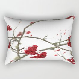 Wintry Day  Rectangular Pillow