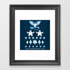 Such an Ice Sweater Framed Art Print