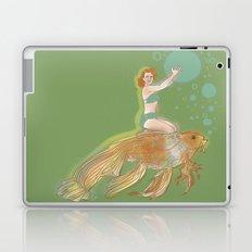 Woman with Koi #1 Laptop & iPad Skin