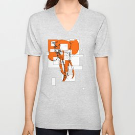 Orange is the New Elephant Unisex V-Neck
