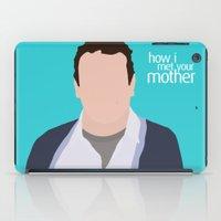 himym iPad Cases featuring Marshall Ericksen HIMYM by Rosaura Grant