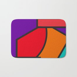 cubism tribute Bath Mat