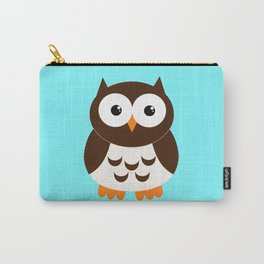 Vintage Vector Smart Owl Carry-All Pouch