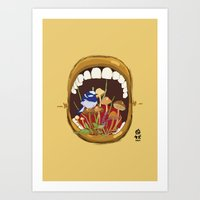 Untitled Mouth  Art Print