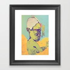 c-c-c-combo breaker Framed Art Print