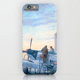 P-51 Mustang Hangar iPhone Case