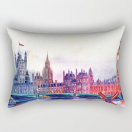 Sunset in London Rectangular Pillow