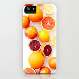 Winter Citrus 2 iPhone Case