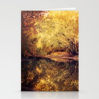 wisconsin Stationery Cards featuring Wisconsin River by KunstFabrik_StaticMovement Manu Jobst