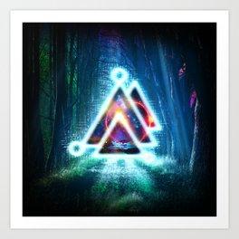 Prisma Delta Illumination Art Print