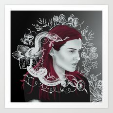j-o-s-s Art Print