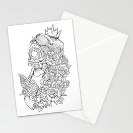 Suicide Sin Lineart Stationery Cards