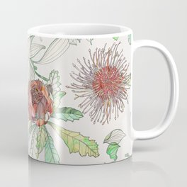 Waratah & Hakea Coffee Mug