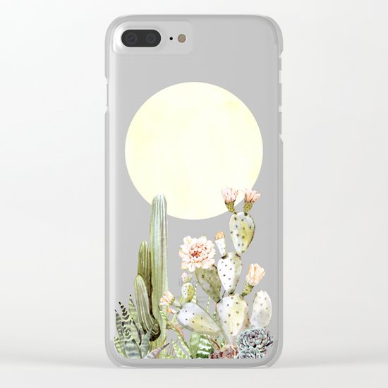 Desert Days Clear iPhone Case