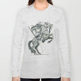Raging  Samurai #2 Long Sleeve T-shirt