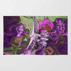 Freedom purple Rug