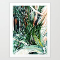 botanical Art Prints featuring Botanical by Amanda Swart