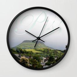 Piss Wall Clock