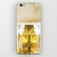 actor iPhone & iPod Skins featuring Robert Pattinson - Actor by Sherazade's Graphics