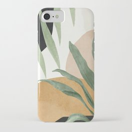 Abstract Art Tropical Leaves 4 iPhone Case