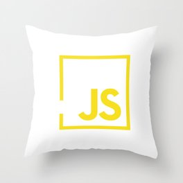 Javascript js Throw Pillow