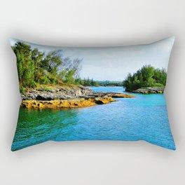 Bermuda Shoreline Rectangular Pillow