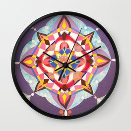 Radial 19 - Multi Wall Clock