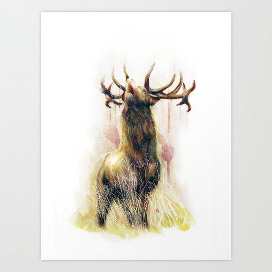 OH DEER I Art Print