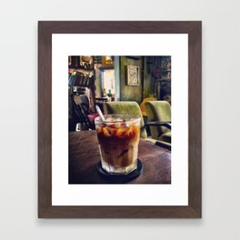 Coffee in Saigon Framed Art Print