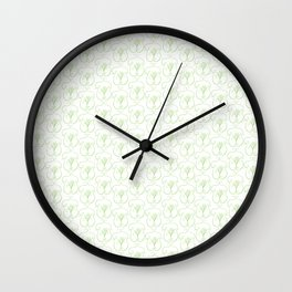 Cartoon Damask Wall Clock