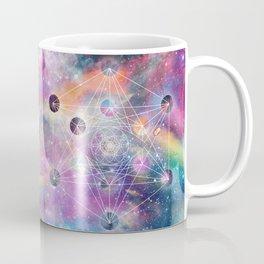 Watercolor and nebula sacred geometry  Coffee Mug