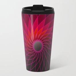 red shining gyro Travel Mug