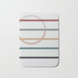 for Love || stripes & circle Bath Mat