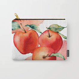 Apples. Watercolor Carry-All Pouch