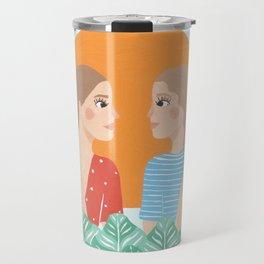 Les Filles Travel Mug
